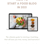 guide on how to start a food blog