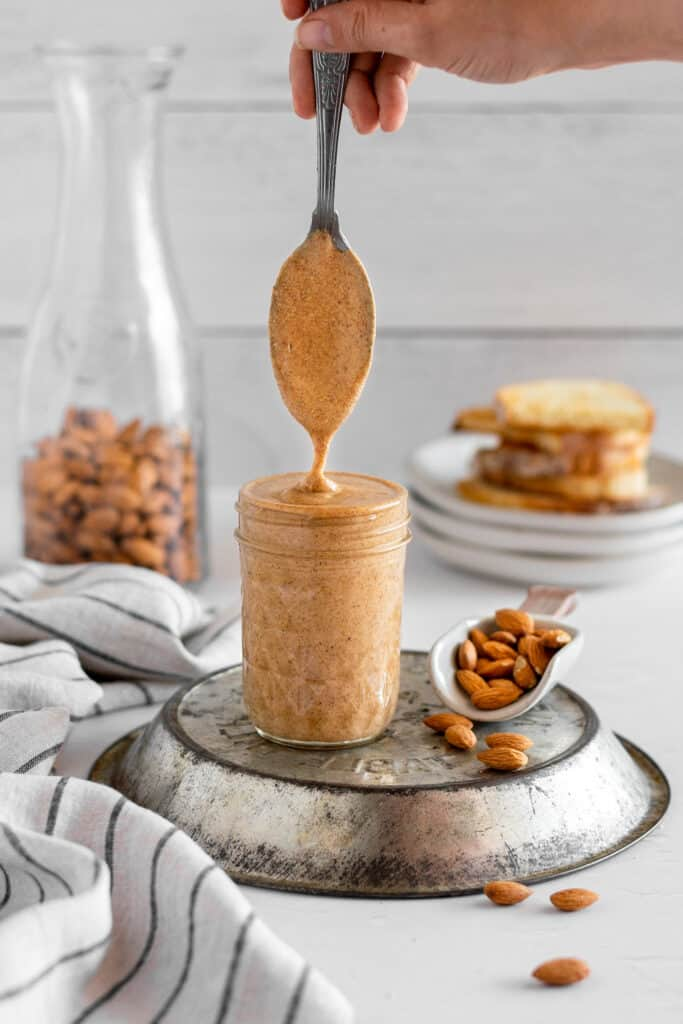 Runny, Natural Almond Butter
