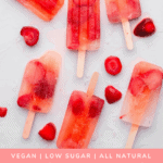 Pinterest recipe for low sugar popsicles