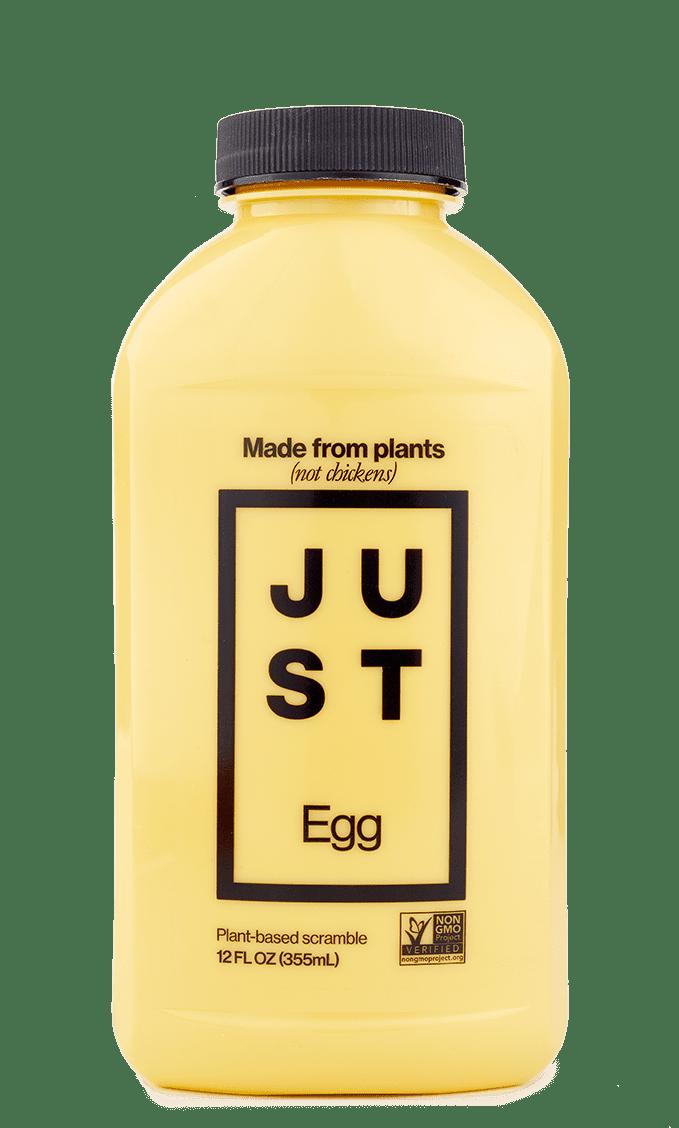 Bottle of Just Egg